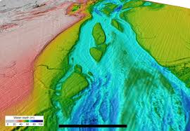 English Channel Map Catastrophic Flood Imperial College London