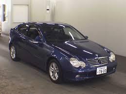 mercedes kompressor coupe 2001 mercedes c class sports coupe c200 kompressor japanese