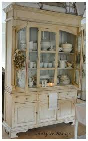 Kitchen Dish Cabinet Best 25 Antique Hutch Ideas On Pinterest Country Hutch