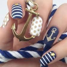 best 25 navy nail art ideas on pinterest sailor nails gel nail