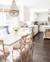 i love the bench and table combo for the kitchen table my dream