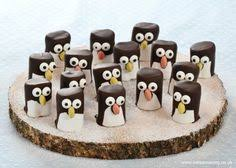Christmas Party Food Kids - how to make easy marshmallow penguins fun christmas food idea