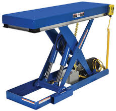 Hydraulic Scissor Lift Table by Vestil Narrow Scissort Lift Tables