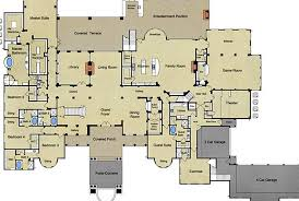 small mansion floor plans mediterranean mansion floor plans design architectural home