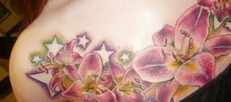 stargazer lilies flower tattoo designs amp tattoomagz