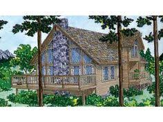 chalet style home plans chalet style home on a walk out basement with cedar siding and a