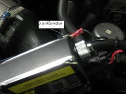 lexus abs brake warning lights getting esp abs and flashing brake light error after hid install