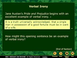 irony satire what is irony verbal irony situational irony ppt