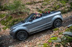 range rover convertible 2017 range rover evoque convertible review