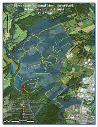 Michaux State Forest Map by First State National Monument Park Hudson Geography
