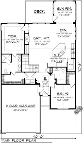 traditional style house plan 2 beds 1 75 baths 1662 sq ft plan
