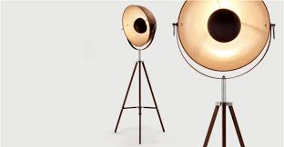 Tripod Floor Lamp Vintage Chicago Tripod Floor Lamp With Brass Finish Id Lights