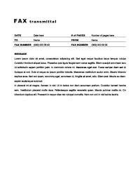 can i fax my resume online 29 free printable fax cover sheet templates