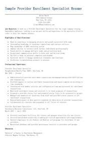 Program Specialist Resume Sample by Sample Property Management Specialist Resume Resame Pinterest