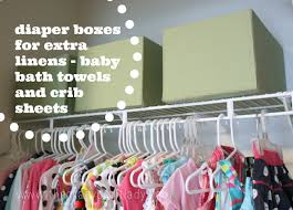 How To Organize Clothes Without A Dresser by Organized Twin Nursery Closet The Crazy Craft Lady