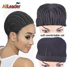 crochet black weave hair good cornrows cap for easier sew in braided wig caps crotchet