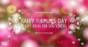 furmum u0027s day 15 gift ideas for dog lovers australian dog lover