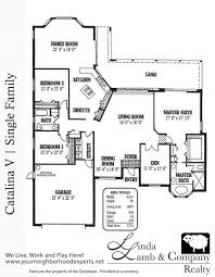 single family floor plans catalina v single family floor plan heritage palms linda lamb