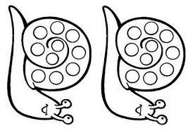 coloriage à imprimer animaux mollusques escargot numéro 671525
