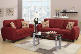 Sofas And Loveseats Sets by Burgundy Red Fabric Sofa And Loveseat Set Sofa Loveseat