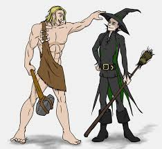 thor and loki halloween by illyriablue24 on deviantart