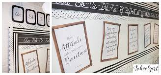 industrial chic classroom decor collection schoolgirlstyle