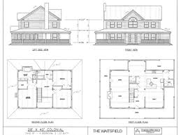 colonial farmhouse plans 1800s house plans 19th century house plans inspiring home plans