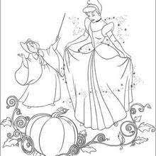 cinderella dancing prince coloring pages hellokids