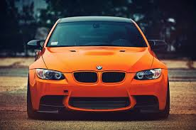 Image Bmw M3 Orange Cars Front