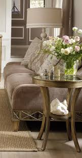 Mirrored Accent Table Sanctuary Round Mirrored Accent Table End Tables