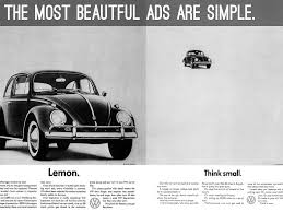volkswagen lemon car campaigns by hershman jack