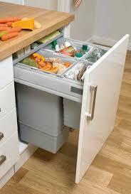ikea kitchen cupboard storage accessories 85l integrated recycling bin kitchen accessories decor