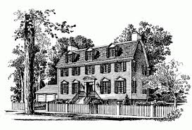 federal house plans eplans adam federal house plan five four and a door