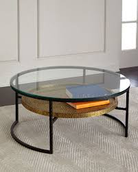 tall glass table ls glass coffee table horchow com