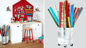 christmas paper storage rolling wrapping paper storage bucketawesome ideas christmas