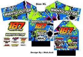 desain jaket racing mab racing design desain nomor start logo team inner suit