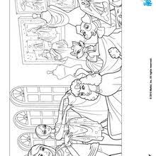 barbie ken friends coloring pages hellokids