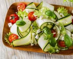 courgette cuisiner recette de tagliatelles de courgettes aux tomates cerises et