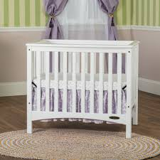 Mini Crib White Mini 2 In 1 Convertible Crib Child Craft