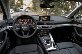 audi a4 2016 interior 2017 audi a4 first drive news cars com