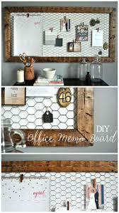 Desk Organization Diy by Office Design Easy Diy Rustic Office Memo Board