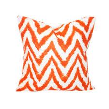 Orange And White Decorative Pillows — Unique Hardscape Design
