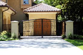 ornamental fence gate ideas design a decorative custom gate to