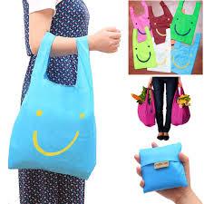 Tella 174 Peel Amp Stick Foldable Eco Shopping Bag Reusable Storage Bag Grocery Tote