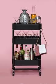 Ikea Wheeled Cart by Best 25 Ikea Bar Cart Ideas On Pinterest Diy Bar Cart Bar