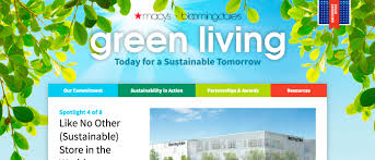macy u0027s green living sustainability in action case study sanger u0026 eby
