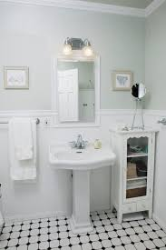 Modern Retro Bathroom Decorating Retro Style Feel To This Otherwise Modern Bathroom