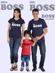 family combo t shirts set
