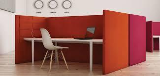 separateur bureau séparateur de bureau au sol en tissu modulable insonorisé