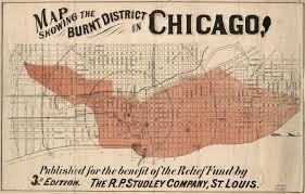Map Of City Of Chicago by The Lost Art Of Mapping City Fires Big Think